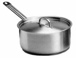 Stainless Steel Heavy Duty Saucepan - 2.5 Litre