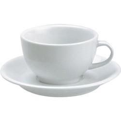 Vitroceram White Cappucino Cup – 230Ml