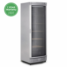 Bromic WC0400C LED 372L Single Curved Glass Door Wine Chiller