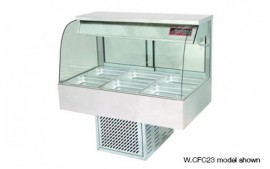 Woodson W.CFC26 (WCFC26) 6 Module Curved Cold Food Display