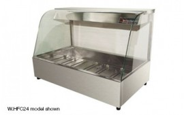 Woodson W.HFC24 (WHFC24) 4 Module Curved Hot Food Display