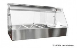 Woodson W.HFS25 (WHFS25) Hot Food Display - Straight Glass