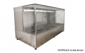 Woodson W.HFSQ22 (WHFSQ22) 2 Module Square Hot Food Display