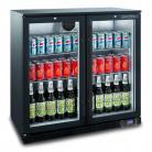 Bromic BB0200GD-NR 190L Back Bar Two Swing Door Display Refrigerator