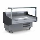 Bromic DD0150SG 1500mm Square Glass Delicatessen Display
