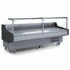 Bromic DD0300SG 3000mm Square Glass Delicatessen Display