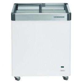 Liebherr EFE1102 108L Flat Glass Slide Lid Chest Freezer