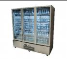 Williams HQS3GDSS Quartz Star Three Glass Door Stainless Steel Upright Display Refrigerator