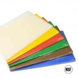Polyethylene Cutting Board - Brown 508mmx381mmx19mm (Single Board Only)