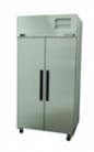 Williams LRS2SDSS Ruby Star Two Solid Door Stainless Steel Freezer