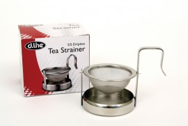 Stainless Steel Tea Strainer - Dripless