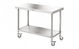 Simply Stainless SS03.1500 Mobile Work Bench