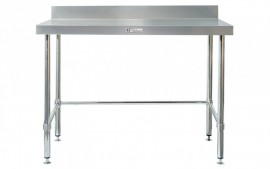 Simply Stainless SS02.2400LB Work Bench with Splashback