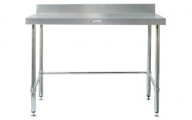 Simply Stainless SS02.7.1200LB Work Bench with Splashback