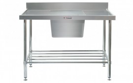 Simply Stainless SS05.1800.C Sink Bench with Splashback