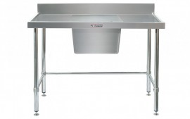 Simply Stainless SS05.1200.C.LB Sink Bench with Splashback