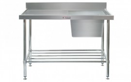 Simply Stainless SS05.1200.R Sink Bench with Splashback
