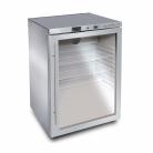 Bromic UBC0140GD-NR 138L Underbench Single Glass Door Display Refrigerator