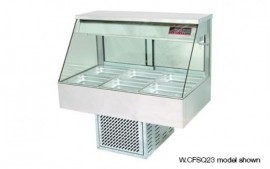 Woodson W.CFS23 (WFS23) 3 Module Straight Cold Food Display