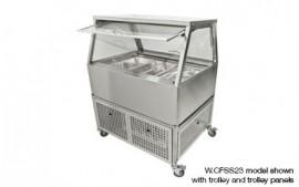 Woodson W.CFSS24 (WCFSS24) 4 Module Self Serve Cold Food Display