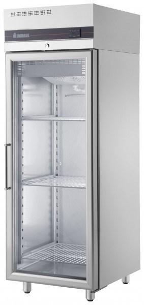 Inomak Ufi2170g Single Door Upright Freezer Glass Door Commercial