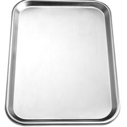 Chef Inox Stainless Steel Rectangular Tray – 300X230Mm