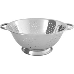 Chef Inox 8.0Lt Colander With Wire Handle (4Mm Holes) – 335X140Mm