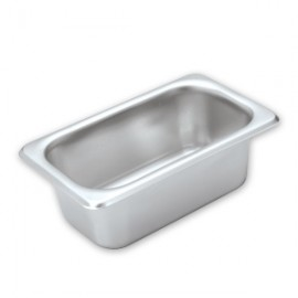 1/9 Size x 100mm S/S Steam Pan