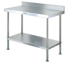 Simply Stainless SS02.7.2400 Workbench with Splashback