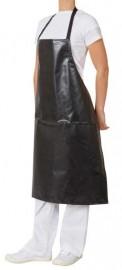 Apron PVC Bib Black 70x86