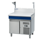 Blue Seal Evolution Series B90S-RB - 900mm Bench Top With Salamander Support Refrigerated Base