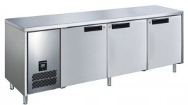Glacian BFS62350 Slimline 660mm Deep Four Door Stainless Steel Underbench Freezer