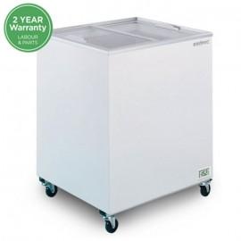 Bromic CF0200FTFG Flat Glass Top 191L Chest Freezer