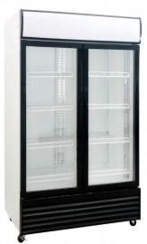 Saltas DFS1000 Two Glass Door Display Refrigerator, 1000Lt