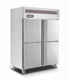 Saltas EUS1142 Upright Double Split Door Stainless Steel Refrigerator