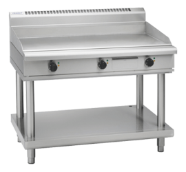 Waldorf 800 Series GP8120E-LS - 1200mm Electric Griddle - Leg Stand