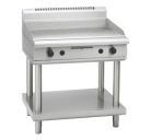 Waldorf 800 Series GPL8900G-LS - 900mm Gas Griddle Low Back Version Leg Stand