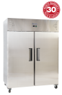 Exquisite GSC1410H Two Solid Doors Upright Storage Refrigerators