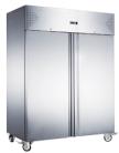 Exquisite GSF1410H Two Solid Doors Upright Storage Freezers