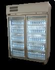 Williams HDS2GDCB Diamond Star Two Glass Door Refrigerator