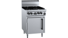 B & S (B+S) OV-SB4 Black Four Burner Oven