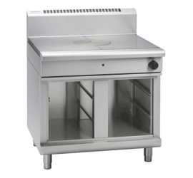 Waldorf 800 Series RN8100G-CB - 900mm Gas Target Top - Cabinet Base