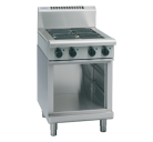 Waldorf 800 Series RNL8400E-CB - 600mm Electric Cooktop Low Back Version Cabinet Base