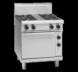 Waldorf 800 Series RN8510GE - 750mm Gas Range Electric Static Oven