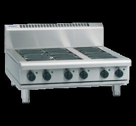Waldorf 800 Series RNL8609E-B - 900mm Electric Cooktop Low Back Version Bench Model