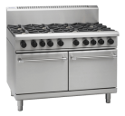 Waldorf 800 Series RNL8826G - 1200mm Gas Range Static Oven Low Back Version