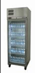 Williams LDS1GDSS Diamond Star One Glass Door Stainless Steel Freezer