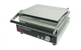 Woodson W.CT6R Six Slice Contact Toaster - Ribbed Top Plate