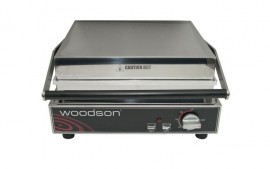 Woodson W.CT8R Eight Slice Contact Toaster - Ribbed Top Plate
