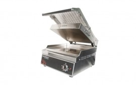 Woodson W.GPC350 Contact Grill - Stainless steel plates